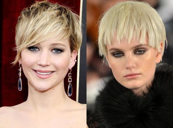 Jennifer Lawrence, Hair