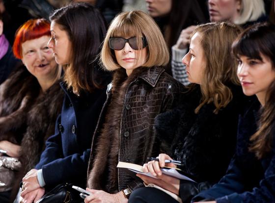 London Fashion Week, Simone Rocha, Anna Wintour