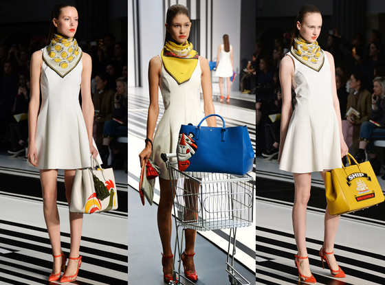Anya Hindmarch AW14, New York Fashion Week