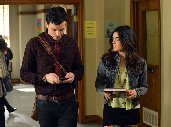 Pretty Little Liars, Lucy Hale, Ian Harding