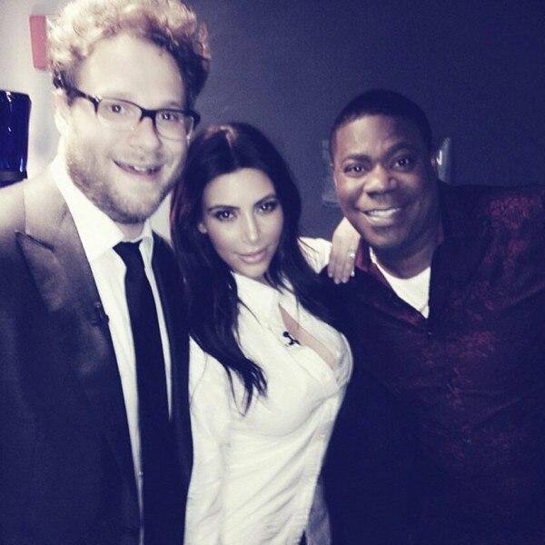 Kim Kardashian, Seth Rogen, Tracy Morgan