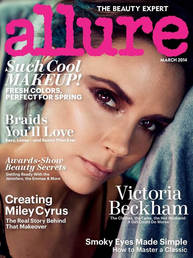 Victoria Beckham, Allure Magazine