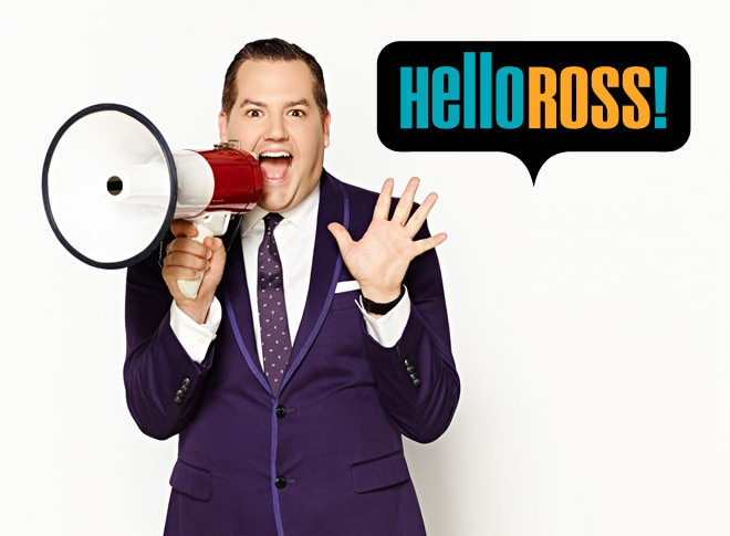 Hello Ross season 2 show landing graphic