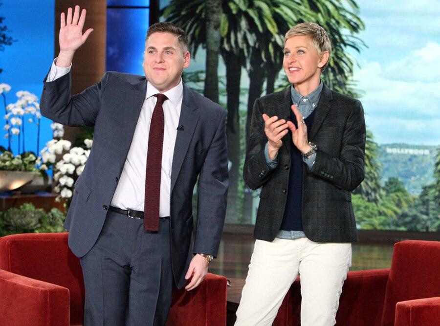 Jonah Hill, Ellen DeGeneres, The Ellen DeGeneres Show