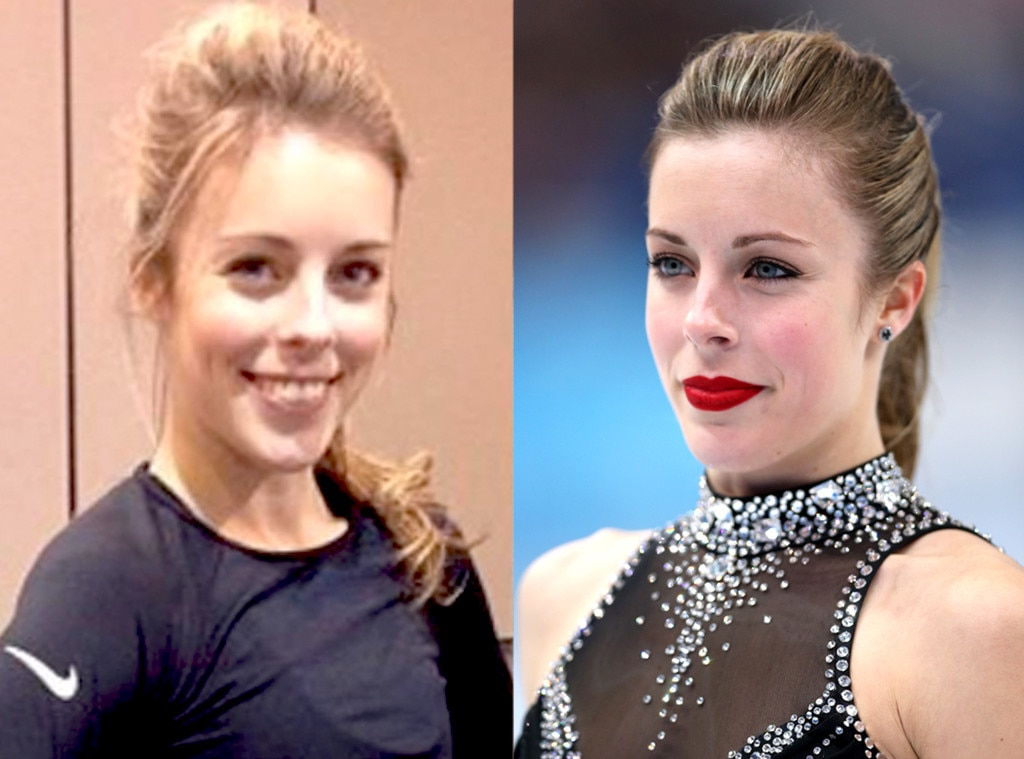Ashley Wagner, Sochi Olympics, No Make-Up