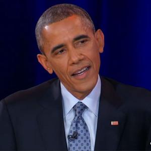 Barack Obama, Colbert Report