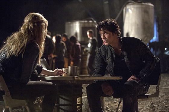 The 100, Eliza Taylor, Bob Morley
