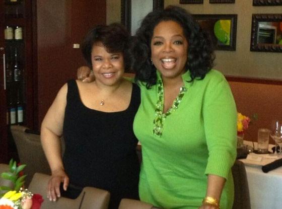 Oprah Winfrey, Half-sister, Twitter