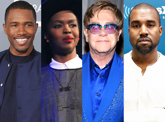 Lauryn Hill, Elton John, Kanye West, Frank Ocean