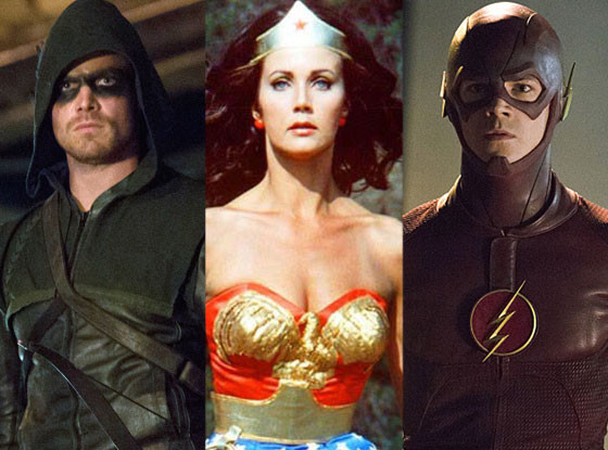Superhero Costumes on TV