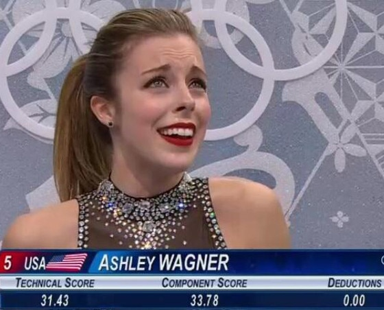 Ashley Wagner, Face