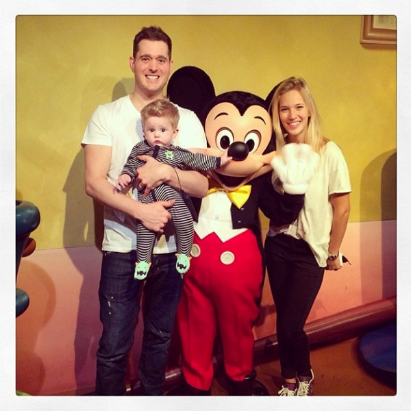 Michael Buble, Instagram