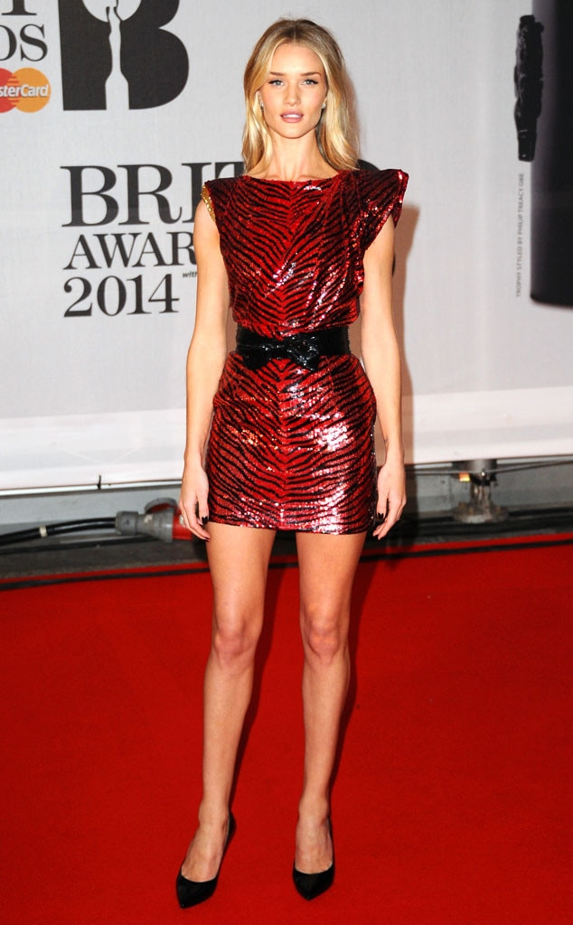 Brit Awards, Rosie Huntington-Whiteley