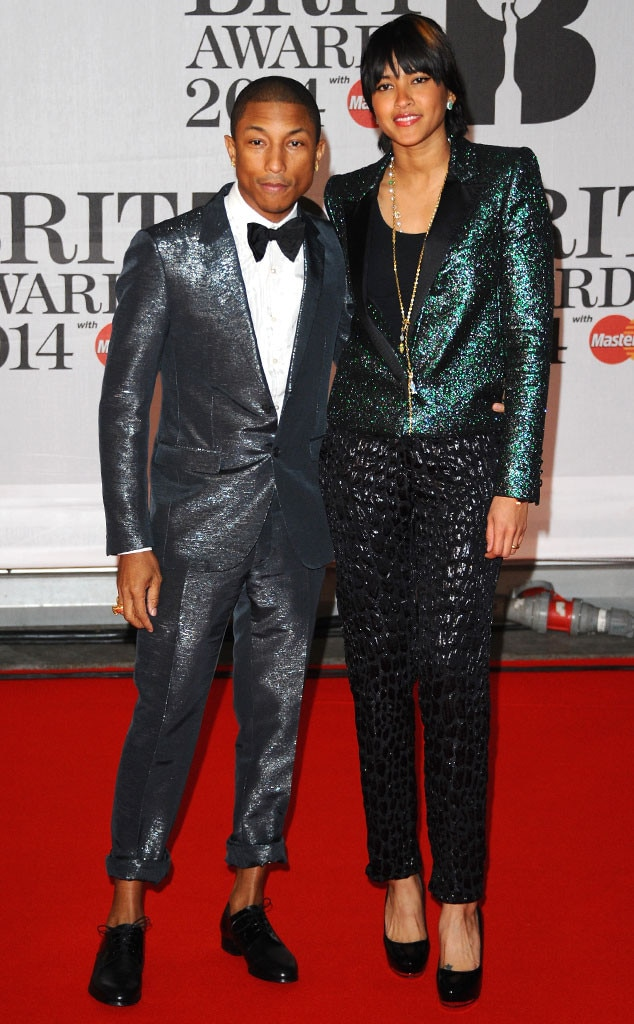 Brit Awards, Pharrell Williams, Helen Lasichanh