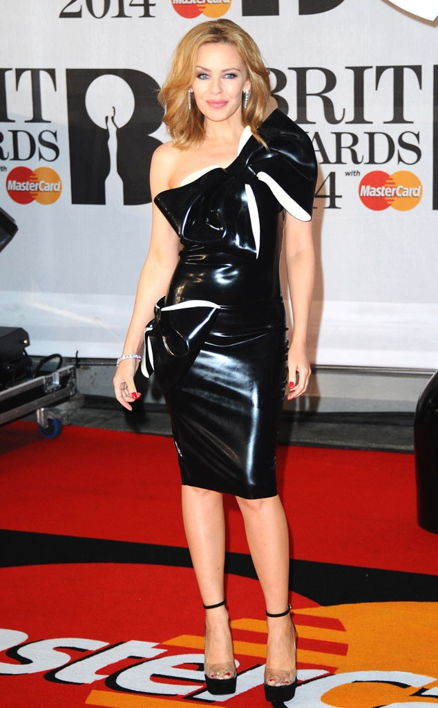 Brit Awards, Kylie Minogue, Latex