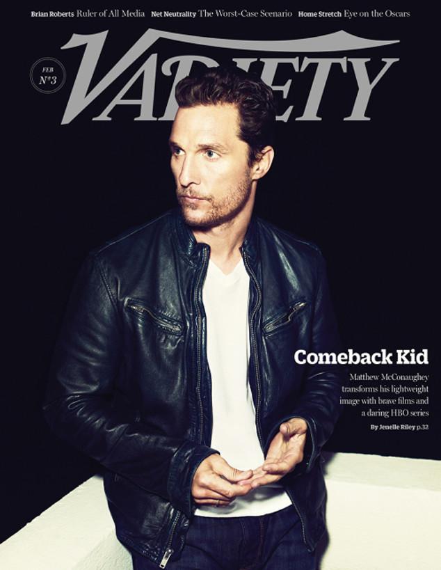 Matthew McConaughey, Variety Cover