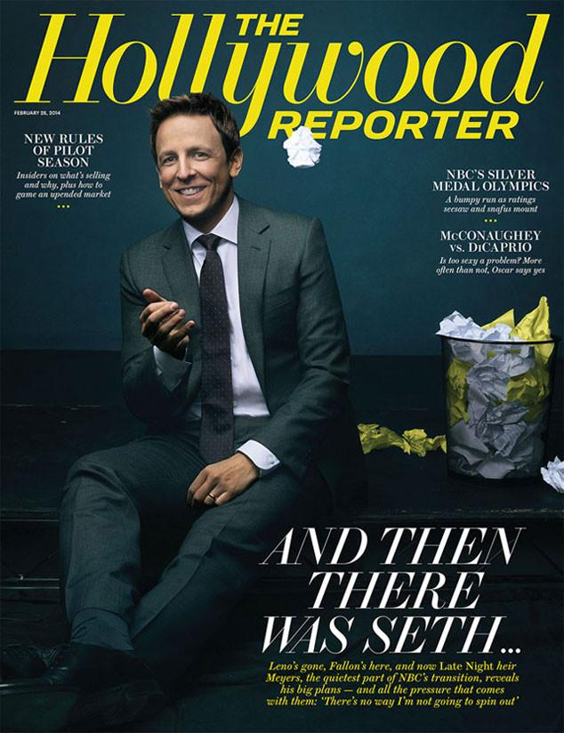 Hollywood Reporter, Seth Meyers
