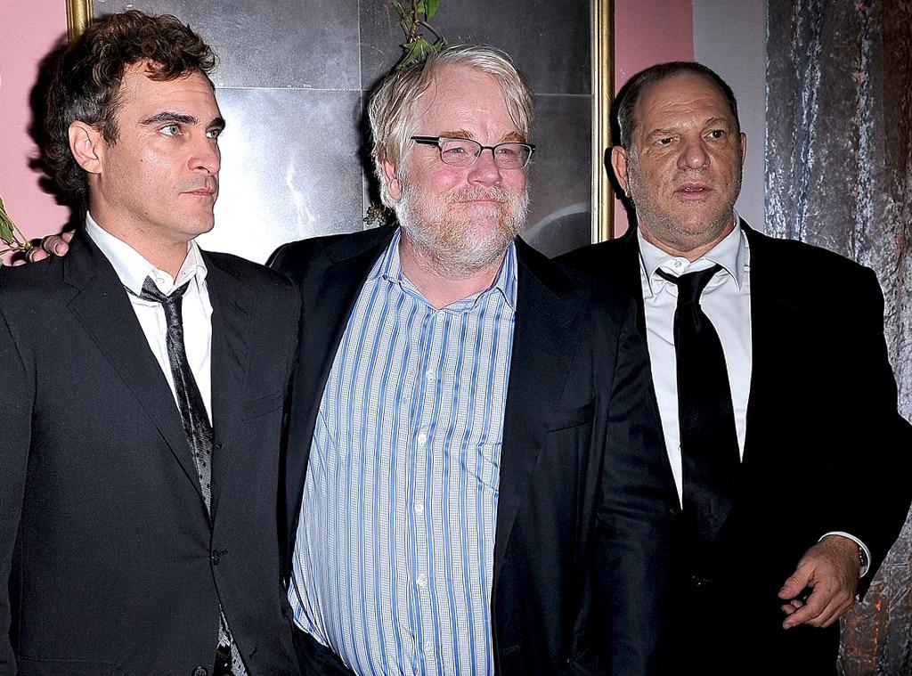 Joaquin Phoenix, Philip Seymour Hoffman, Harvey Weinstein