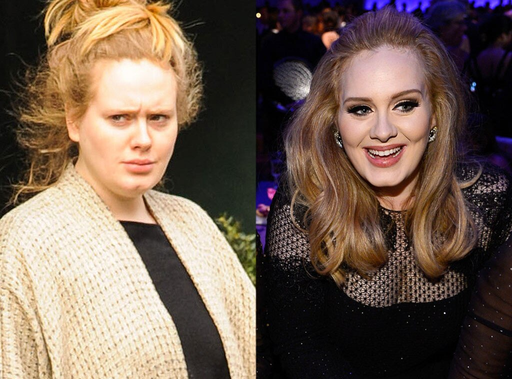 Adele, No Makeup