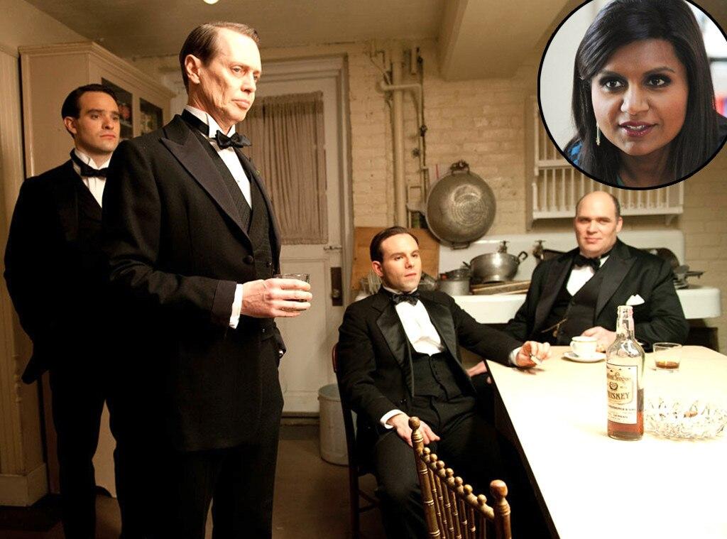 Steve Buscemi, Boardwalk Empire, Mindy Kaling, Favorite TV Shows
