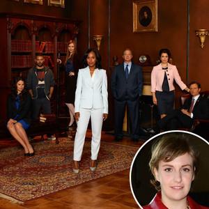 Scandal Cast, Lena Dunham