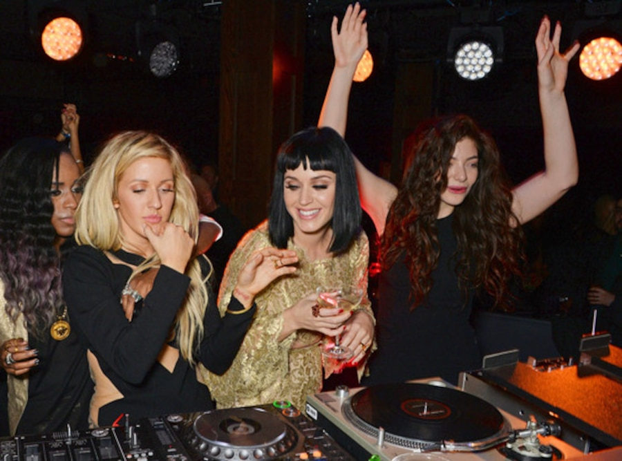 Ellie Goulding, Katy Perry, Lorde, Brit Awards After Party