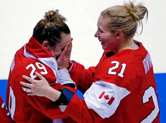 Canadian Hockey Team, Sochi Winter Olympics