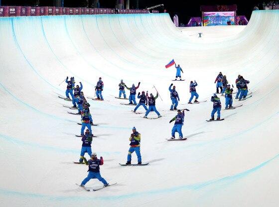 Sarah Burke Tribute, Sochi Winter Olympics