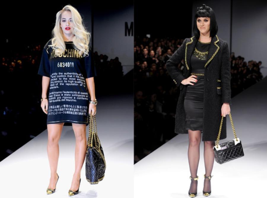 Rita Ora, Katy Perry, Moschino