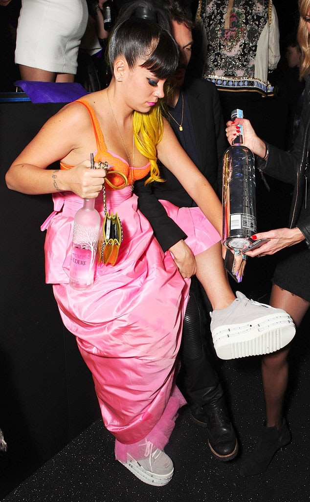Lily Allen, Brit Awards After Party