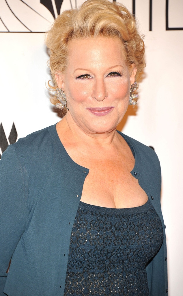 bette midler young