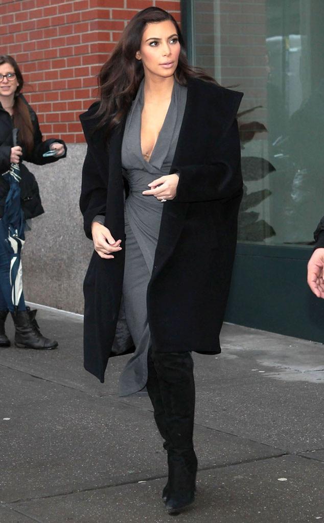 Kim Kardashian, Wardrobe Malfunction