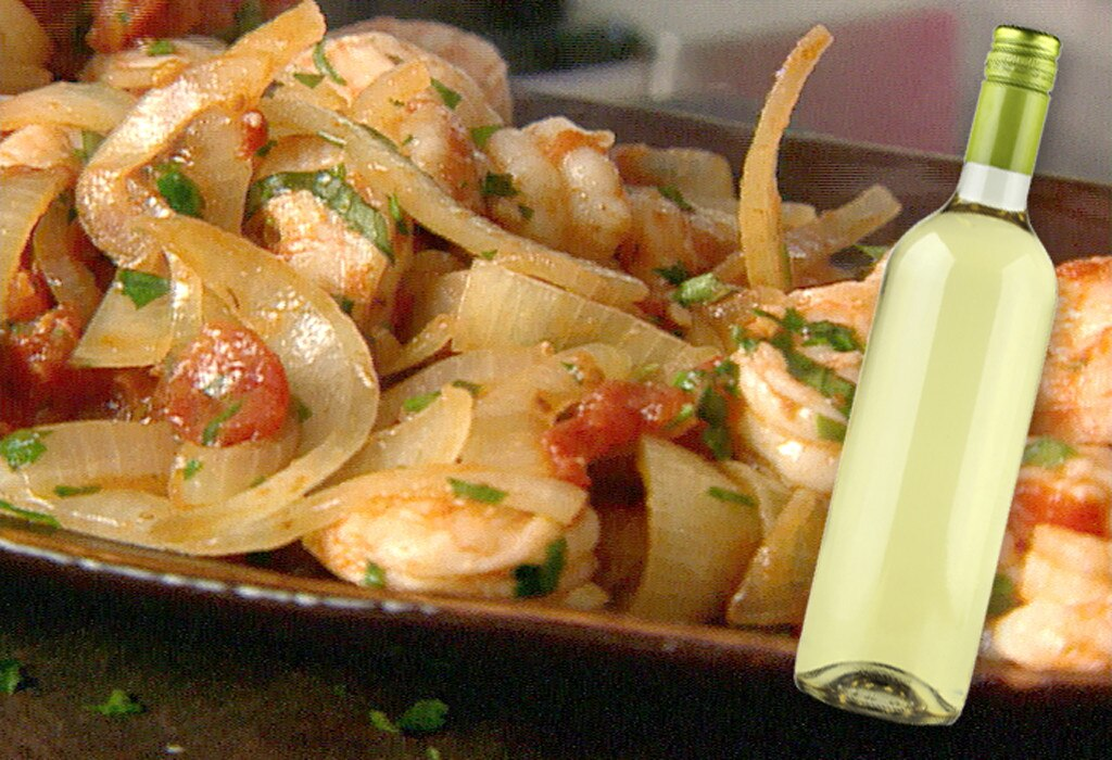 Italian Food and Wine Pairings, Shrimp Fra Diavolo, Pinot Grigio