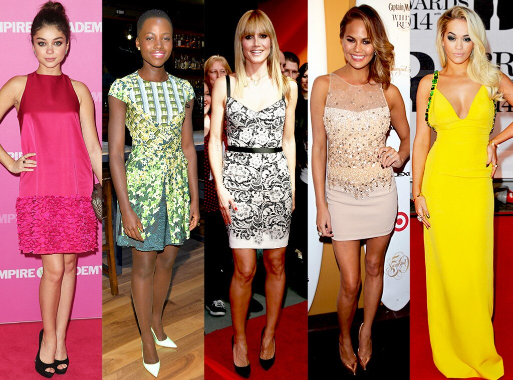 Rita Ora, Lupita Nyong'o, Sarah Hyland, Chrissy Teigen, Heidi Klum, Best Dressed