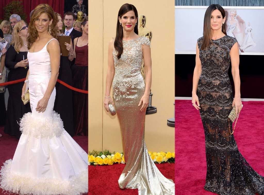Sandra Bullock, Oscars Over the Years