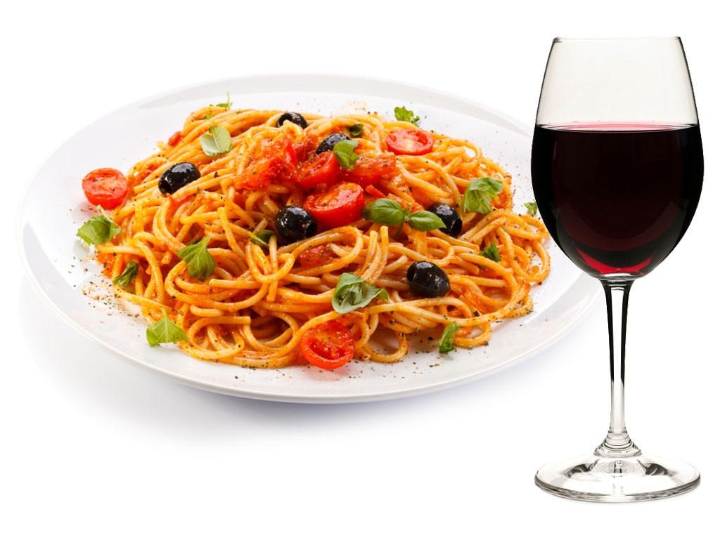 Spaghetti and Valpolicella from Italian Food and Wine ...