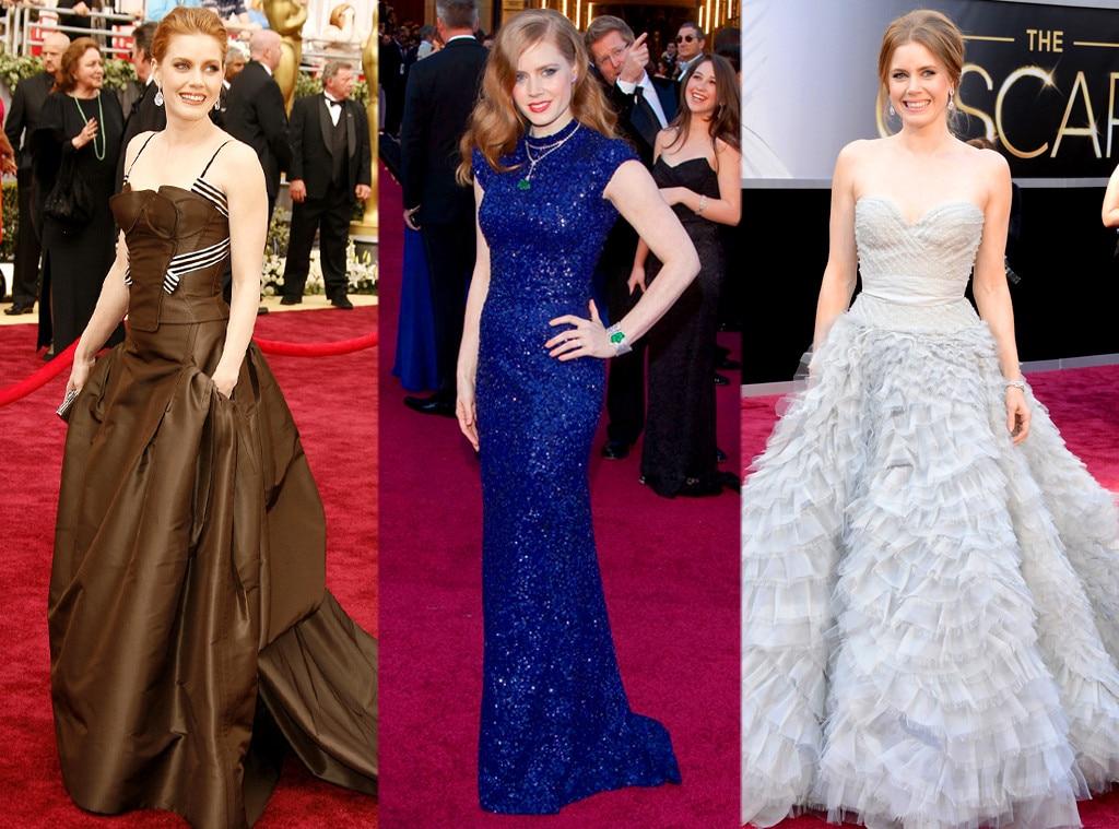 Amy Adams, Oscars Over the Years