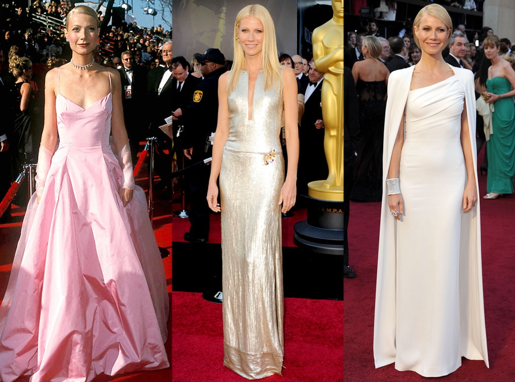 Gwyneth Paltrow, Oscars Over the Years