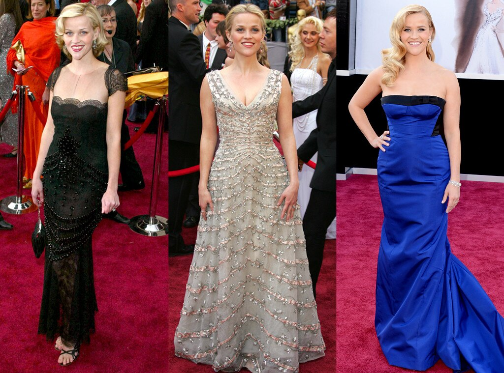 Reese Witherspoon, Oscars Over the Years