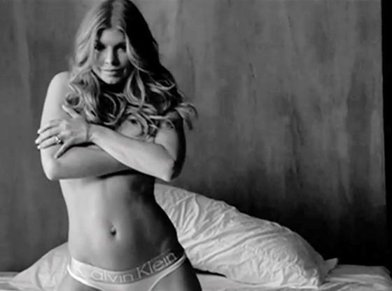 Fergie, Calvin Klein Ad