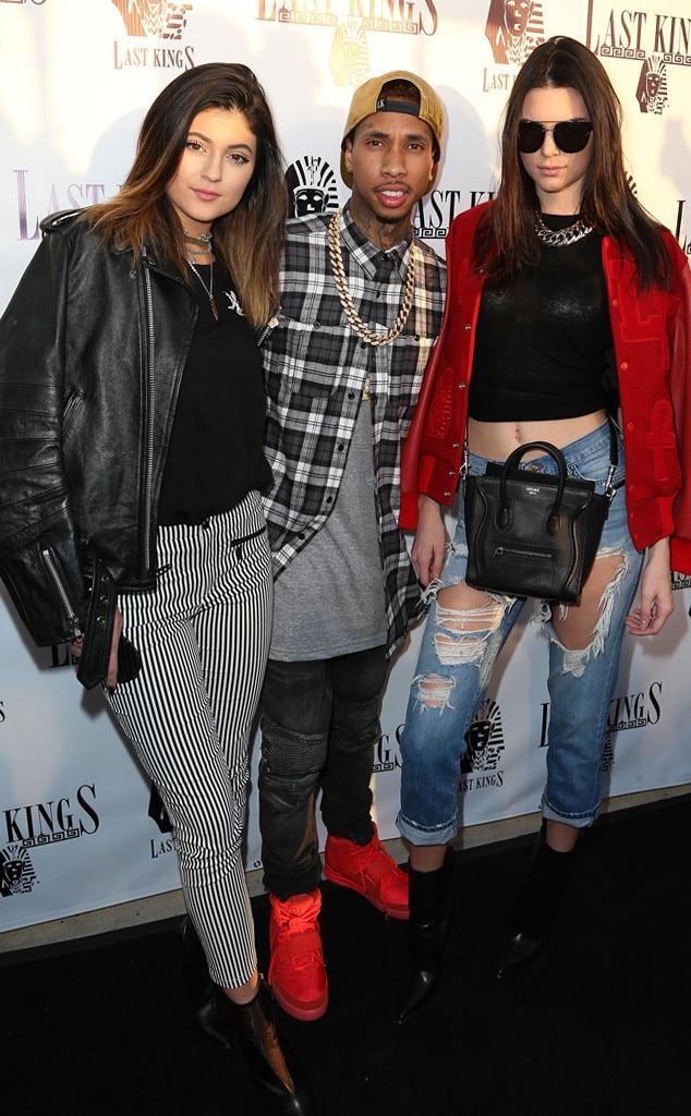 Kylie Jenner, Tyga, Kendall Jenner