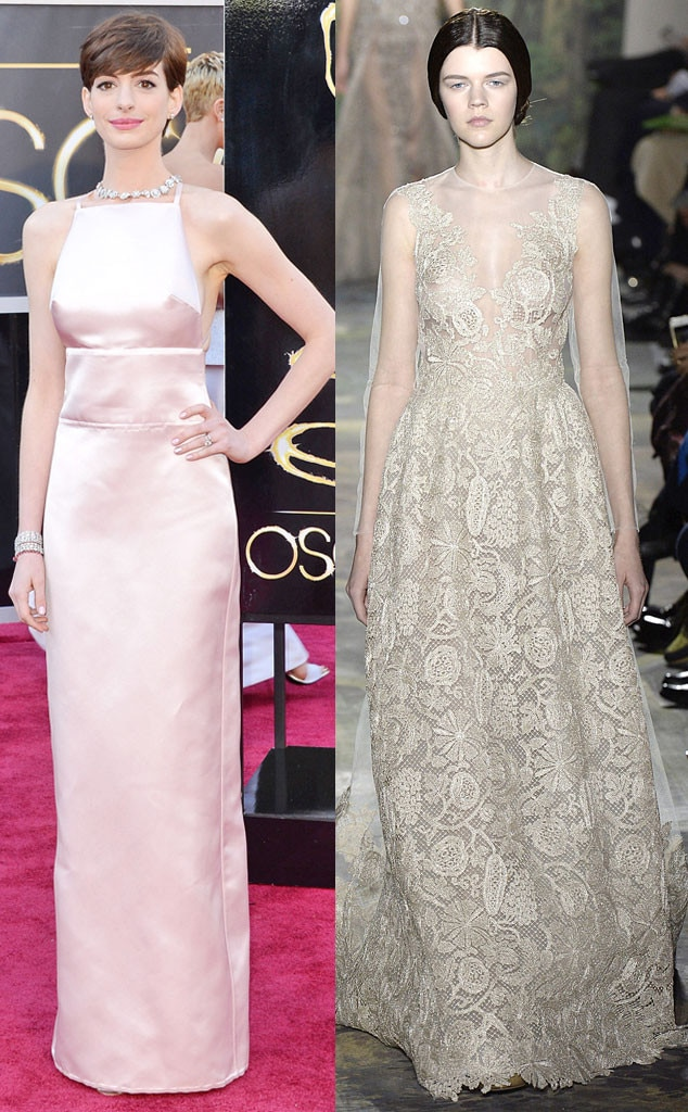 Anne Hathaway, Oscars 2013, Valentino, Oscar Gown Predictions