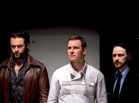 James McAvoy, Michael Fassbender, Hugh Jackman, X-Men: Days of Future Past