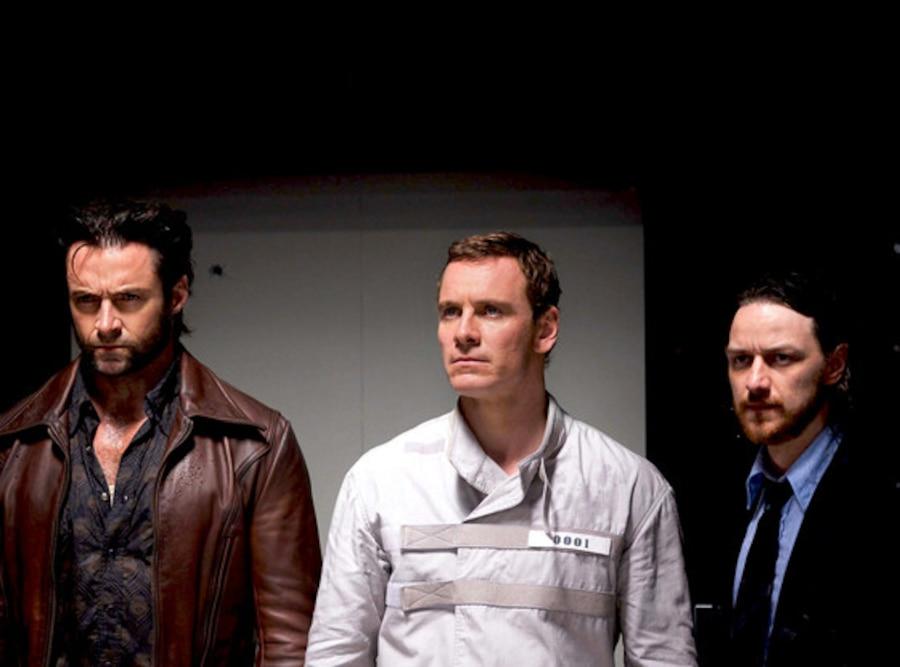 James McAvoy, Michael Fassbender, Hugh Jackman, X-Men: Days of Future Past