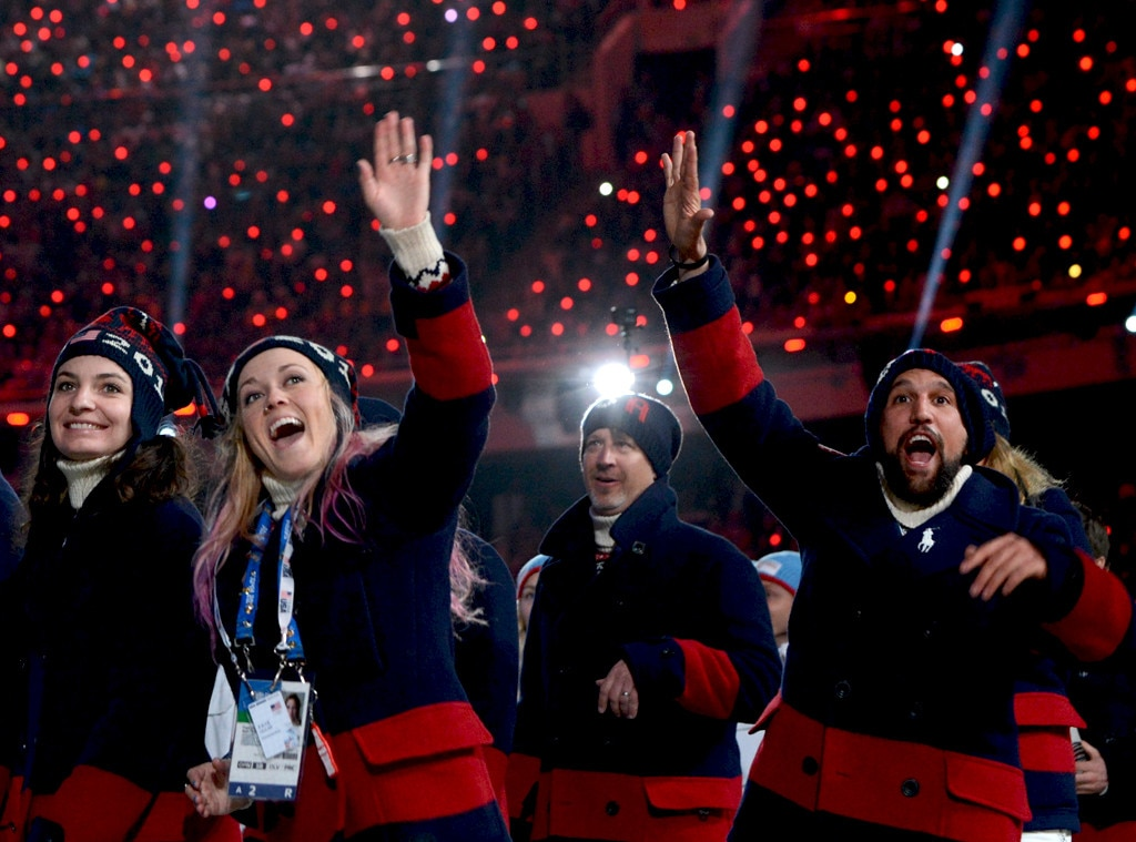 Sochi Winter Olympics Closing Ceremony, Team U.S.A.