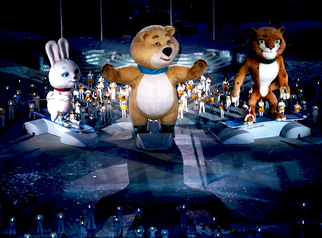 Sochi Winter Olympics Closing Ceremony, Mascot