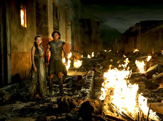 Pompeii, Emily Browning, Kit Harington