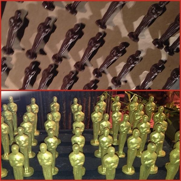 Marc Malkin, Wolfgang Puck, Oscars 2014