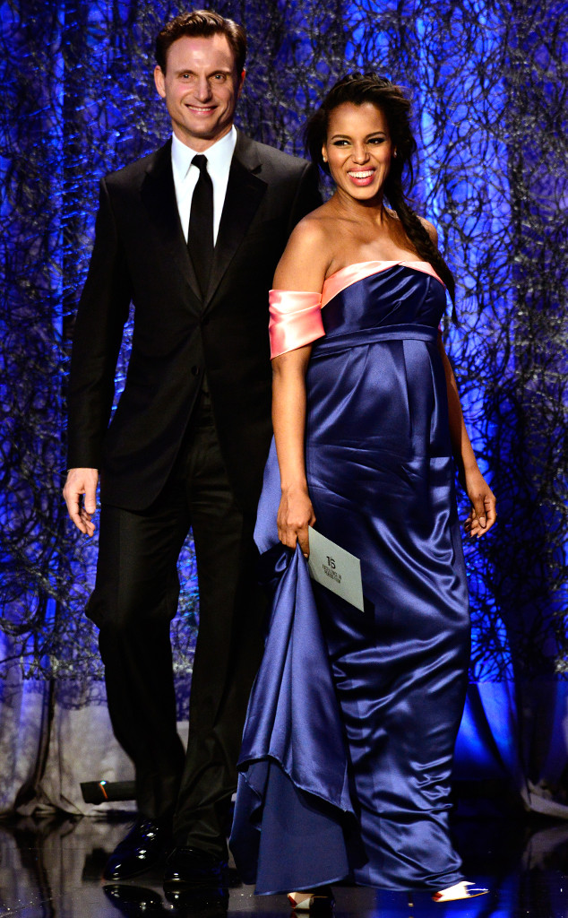 Tony Goldwyn, Kerry Washington, Costume Designers Guild Awards