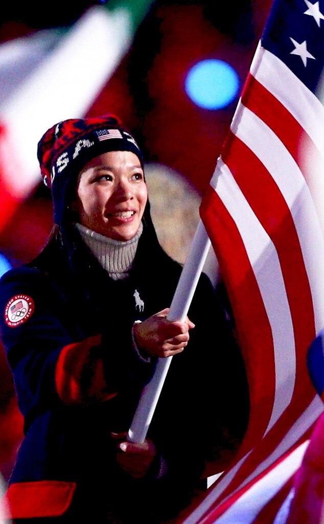 Sochi Winter Olympics Closing Ceremony, Julie Chu